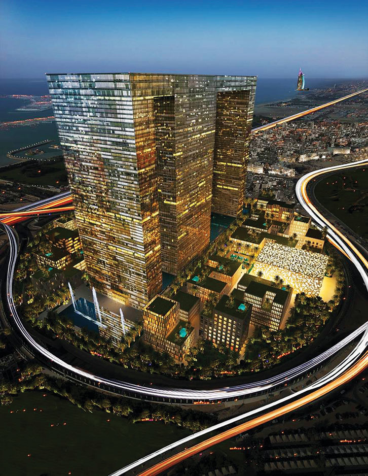 Dubai Pearl Uae Meinhardt Transforming Cities