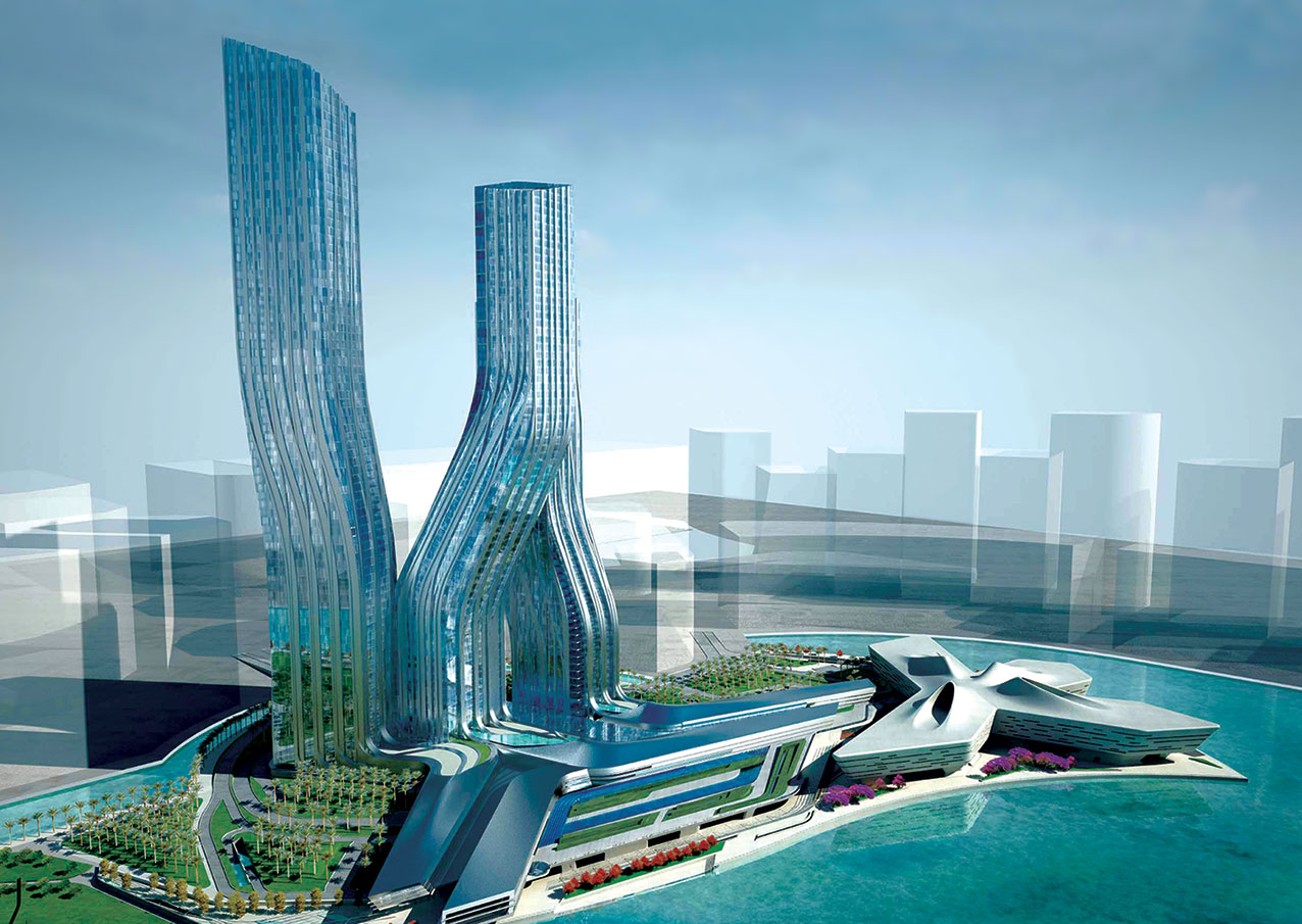 How To Design Spaces For People With >> Signature Towers & Dubai Financial Market Business Bay, UAE | Meinhardt – Transforming Cities ...